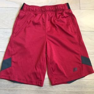 Russell Boys Athletic Shorts Red & Black Size 8